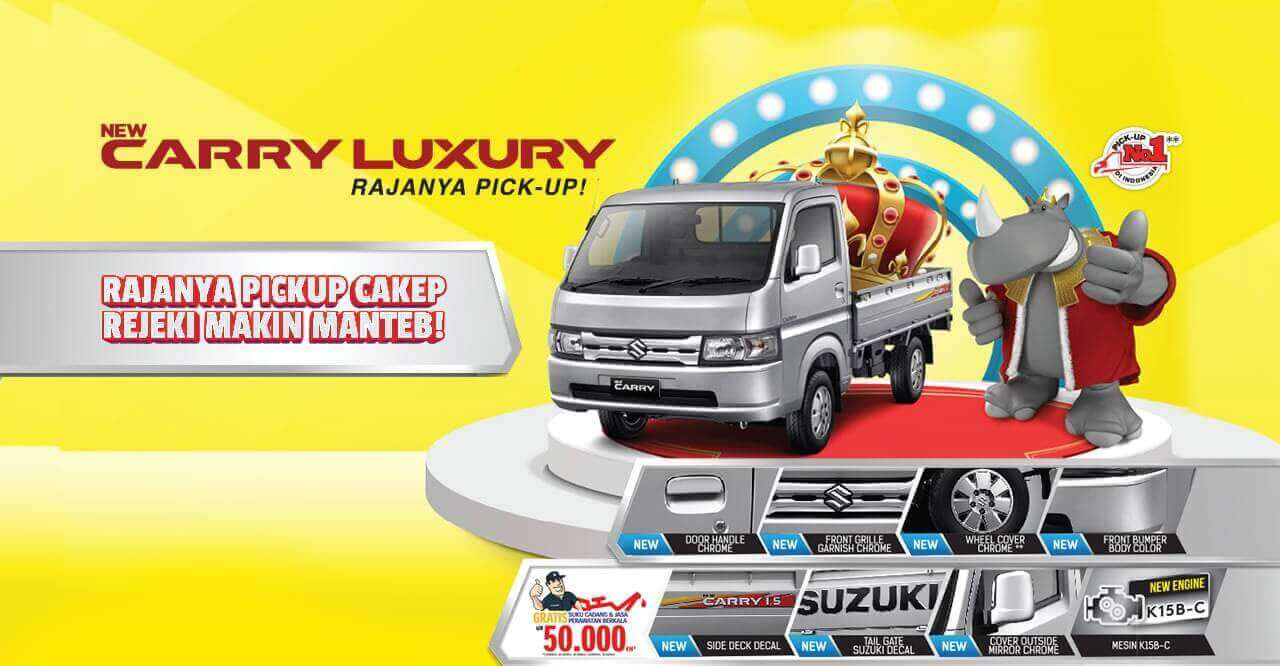 Spesifikasi Suzuki New Carry Luxury