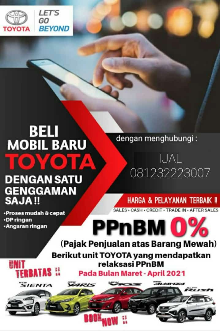 Promo PPnBm 0% Dealer Toyota Surabaya